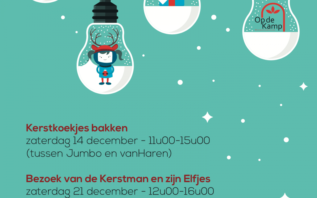 Kerstfeest in Op de Kamp